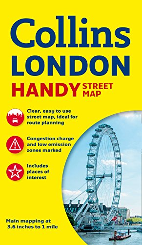 Londres Handy Street map 1:17.500. Collins. (Collins Handy Street Map) por VV.AA.