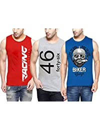 hotfits Men's Regular Fit T-Shirt(Pack of 3)