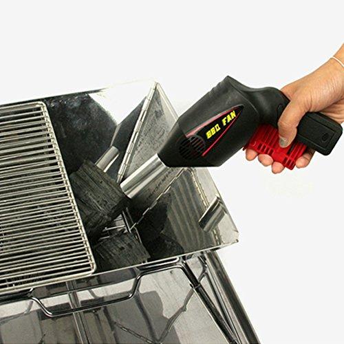 Tofree Tragbare BBQ Gebläse Hand Handdruck Grill Fan Outdoor Grill Werkzeuge Feuer Bälge Camping Lieferungen -