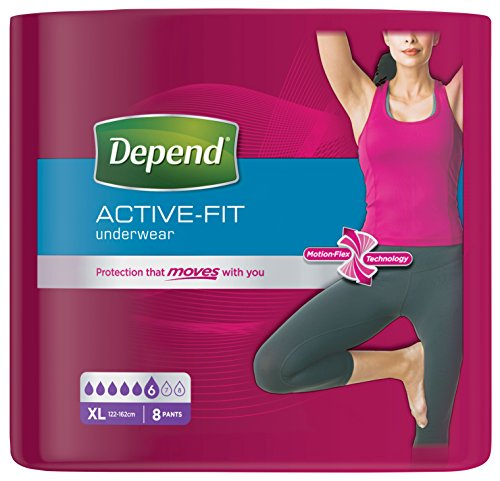 Depend-Active-Fit-Incontinence-Pants-for-Women-Maximum-Absorbency-X-Large-4-Packs-32-Pants