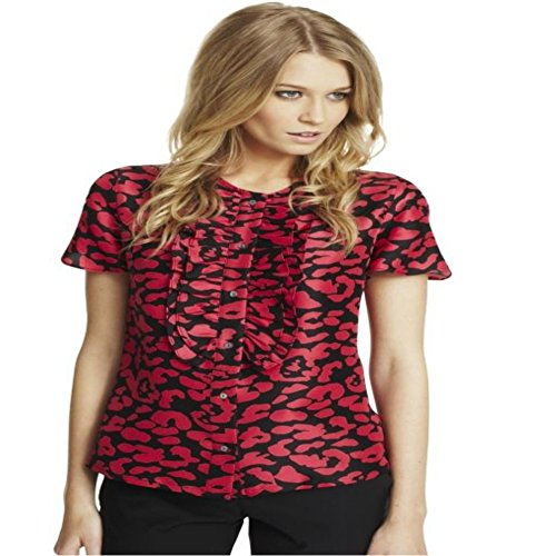 paul-costelloe-collection-red-black-abstract-silk-dupion-ruffle-blouse-uk-14-eur-42