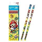 MITSUBISHI Crayon papier boîte écriture Crayon Super Mario Jaune 2B k55742b (Import Japon)