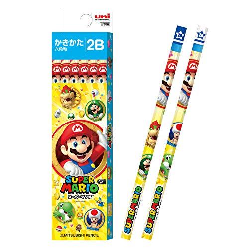 MITSUBISHI Bleistift Papier Box Schreiben Stift Super Mario gelb 2B k55742b (Japan Import) (Super Mario Bleistifte)