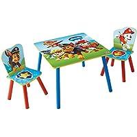 PAW PATROL - Set aus Tisch und zwei Stühlen für Kinder