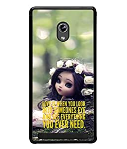 PrintVisa Designer Back Case Cover for Asus Zenfone 5 (when you look into eyes)