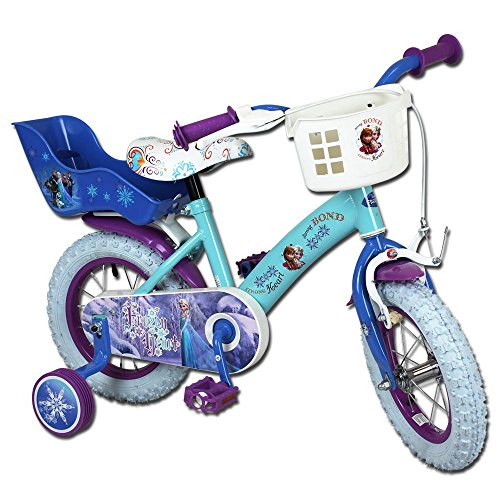 Kinderfahrräder - Fahrrad - Kinderrad - 12 Zoll mit Motivauswahl (Disney Frozen)