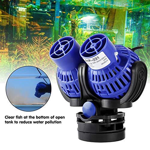 YAOBLUESEA Wave Maker Aquarium Strömungspumpe Umwälzpumpe Wellenpumpe 26W 15000 L/H 150~200cm Aquarium -