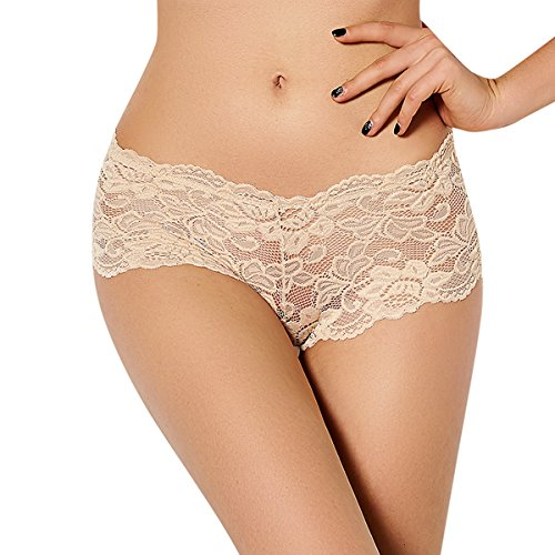 E-Girl 3er Pack G5059 Gold 2018 Klassisch Damen String Panties Hipster,3XL(46-48) (Panty Mikrofaser-boyshort)
