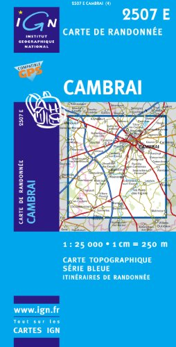Cambrai (Ouest)/Marcoing GPS: Ign2507e par IGN