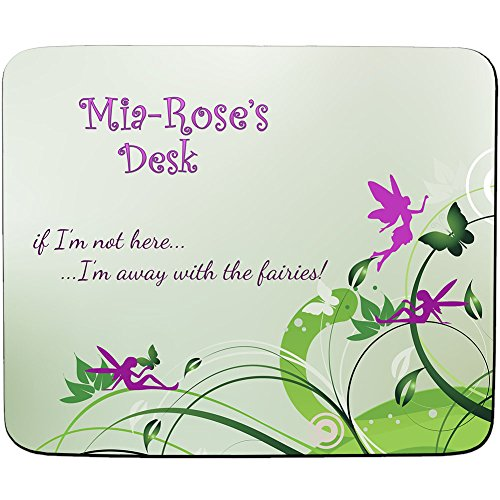 mia-roses-desk-away-with-the-fairies-design-personalised-name-mouse-mat-premium-5mm-thick