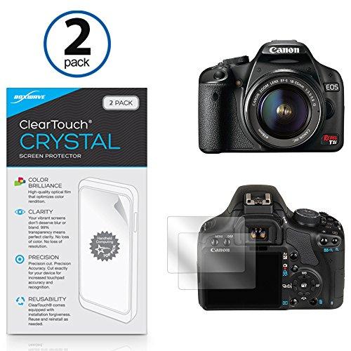 canon-eos-digital-rebel-t1i-film-protecteur-decran-boxwaver-cleartouch-cristal-2-hd-film-peau-proteg