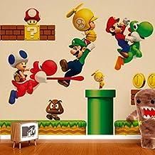 Suchergebnis Auf Amazon De Fur Super Mario Wandtattoo