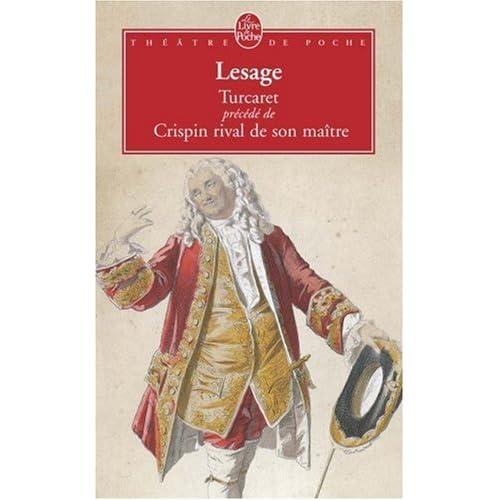 Turcaret, suivi de 'Crispin rival de son Maître'