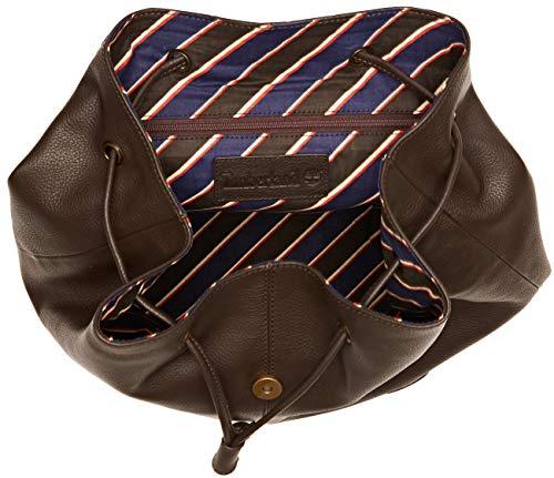 Timberland Zaino In Pelle  Women   s Cross-Body Bag  Brown  Chocolate Brown