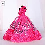 Teabelle Beautiful Handmade wedding party Dress abito vestiti per 29 cm bambola Barbie V