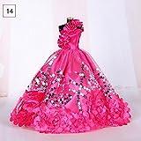 Teabelle Beautiful Handmade wedding party Dress abito vestiti per 29cm bambola Barbie V