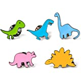 Spilla,Spilla di Dinosauro dei Cartoni Animati,Spilla di Metallo,Pin Unisex,Cartone Animato Spilla per Abito Maglione Camicia