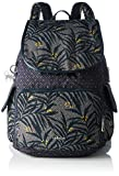 Kipling City Pack, Damen Rucksackhandtasche, Multicolour (Tropic Bloom Bl), 32x37x18.5 cm (W x H x L)