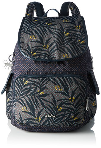 Imagen de kipling  city pack, bolsos  mujer, multicolour tropic bloom bl , 32x37x18.5 cm w x h x l  alternativa