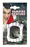 Zähne für Kostüm - Verkleidung - Karneval - Halloween - Vampir - Dracula - weiße Farbe - Unisex - Mann - Frau - Jungen - Kinder