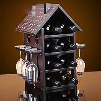 Vino rosso appenderie vino attaccatura di vetro vino Rack legata