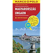 MARCO POLO Länderkarte Ungarn 1:300 000 (MARCO POLO Länderkarten)