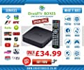 Limitless Mxq - Quad Core Android Smart Tv Box Fully Loaded - 8gb - Plug & Play
