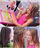#1: Girls Colorful Hair Decoration Plastic Strings-Pack Of 4