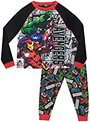 Marvel Pijamas de Manga Larga para niños Avengers