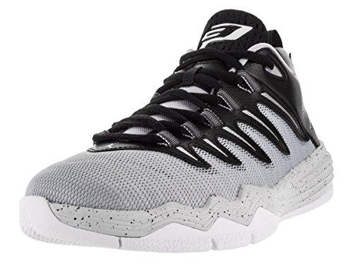 Nike Jordan Kids Jordan CP3. IX Basketball Schuh, grau - Blck/Mtllc Slvr/Elf Gry/Pr Plt - Größe: M Großes Kinder (Kinder Basketball Große Nike)