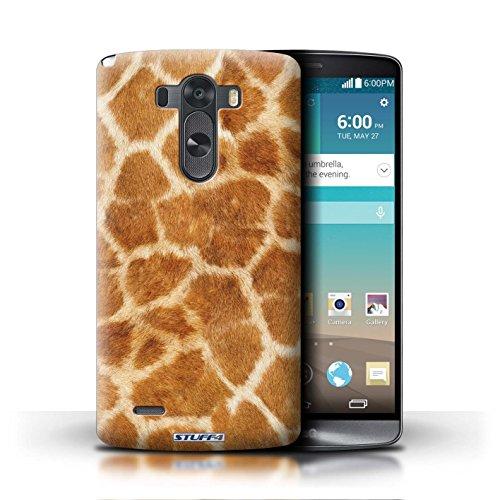 Kobalt® Imprimé Etui / Coque pour LG G3/D850/D855 / Vache/Noir conception / Série Motif Fourrure Animale Girafe