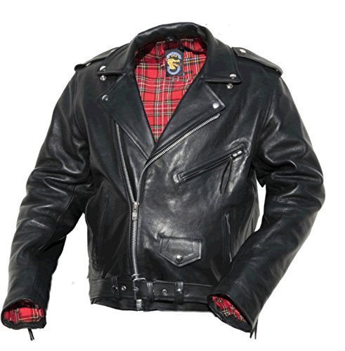 Motorradjacke Perfecto (M) (Leder Jahre 50er Jacke)