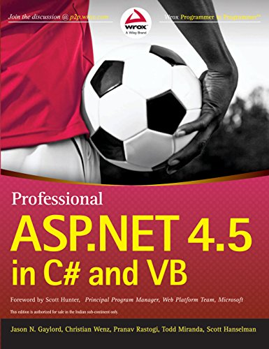 Professional ASP.NET 4.5 in C# and VB (WROX)