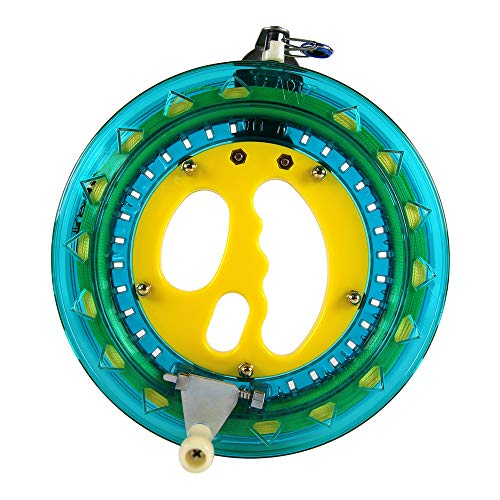 Mint\'s Colorful Life Drachenschnur Seilwinde für Drachen, 200m Schnüre und Stecker bereit. EIN gutes Flugspielzeug Geschenk für Ihre Kinder/Teenageralter (Blau)