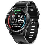 Smartwatch Fitness Armband Uhr mit Pulsuhren Schlafmonitor Blutdruck Uhr IP68 Wasserdicht Schrittzähler Kalorienzähler Sportuhr Aktivitätstracker Anruf SMS Push Herren Damen Smartwatch...