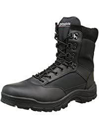 Mil-Tec–SWAT Botas Negro Uso Botas de senderismo zapatos botas de senderismo Montaña exterior, talla 37–50