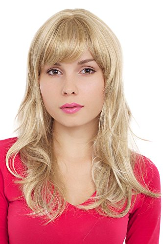WIG ME UP ® - GFW242-24H613 Perücke, Wig blond-hellblond wellig Pony ()
