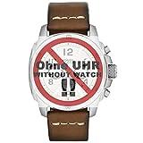Fossil orologio Band Swing Arm Band LB di fs4929ricambio originali Band FS 4929Orologio Bracciale in pelle 24mm Marrone