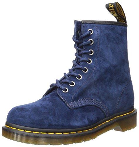 Dr. Martens Unisex-Erwachsene 1460 Indigo Soft Buck Stiefel Blau (Indigo)