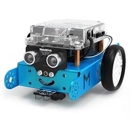 Makeblock - Robot Educativo mBot V1.1 Versión 2.4G, Color Azul (BXMA90058)