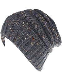 Kobay Cappellino per Copricapo di Turbante Intrecciato con Cappello da Sci  all Uncinetto Invernale Lavorato c8bdc401164e