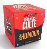 Mini boîte à répliques culte spécial humour