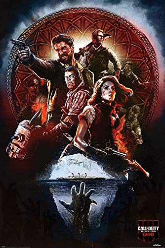Call of Duty Black Ops 4 Zombies Poster
