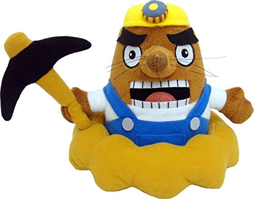 Nintendo Animal Crossing - Mr. Resetti Plush - Mole - 17.8cm 7""
