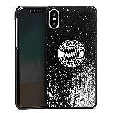 DeinDesign Apple iPhone X Hülle Case Handyhülle Sprayart FC Bayern München FCB