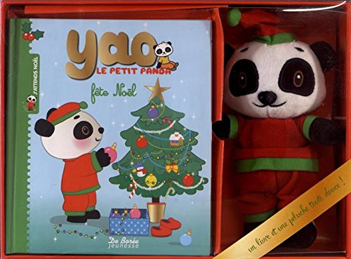 Petit panda fête Noël : Avec une peluche (Petite Panda)