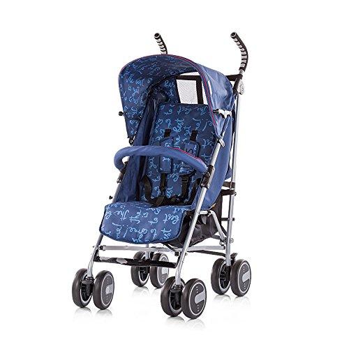 Cochecito para bebé Iris 6+ de la marca Chipolino azul marino