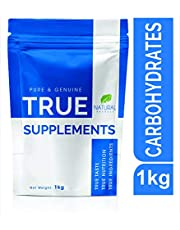 True Supplements Pure Carbohydrates Gainer for Mass Gain l 20 Servings l 1kg