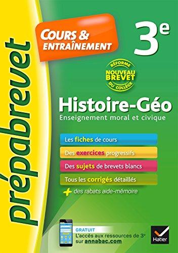 Histoire-Gographie EMC 3e Nouveau brevet