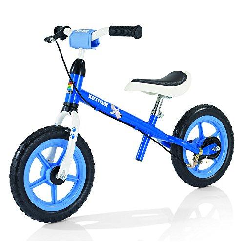 Kettler Laufrad Speedy Waldi - das ideale Lauflernrad - Kinderlaufrad mit Reifengröße: 12,5 Zoll - stabiles & sicheres Laufrad ab 2 Jahre - blau & weiß